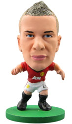 Tom Cleverley Manchester United Home (2012/13) Soccerstarz