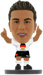 Mario Gotze Germany Home (Flag) Soccerstarz