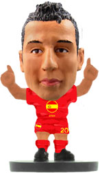 Santi Cazorla Spain Home (Flag) Soccerstarz