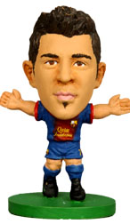 David Villa Barcelona Home (2012/13) Soccerstarz