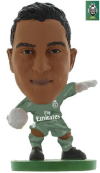 Keylor Navas Real Madrid Home (2017/18) Soccerstarz