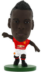 Paul Pogba Manchester United Home (2017/18) Soccerstarz