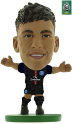 Neymar Jr Paris St Germain Home (2017/18) Soccerstarz
