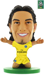 Edinson Cavani Paris St Germain Away (2017/18) Soccerstarz