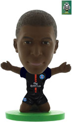 Kylian Mbappe Paris St Germain Home (2017/18) Soccerstarz