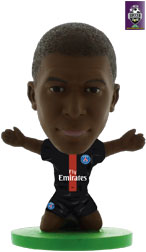 Kylian Mbappe Paris St Germain Home (2018/19) Soccerstarz