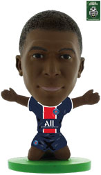 Kylian Mbappe Paris St Germain Home (2020.21) Soccerstarz