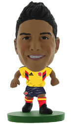James Rodriguez Colombia Home (Classic) Soccerstarz