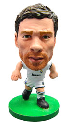 Xabi Alonso Real Madrid Home (2012/13) Soccerstarz