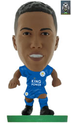 Youri Tielemans Leicester City Home (Classic) Soccerstarz
