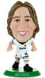 Luka Modric Real Madrid Home (2012/13) Soccerstarz