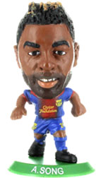 Alex Song Barcelona Home (2012/13) Soccerstarz
