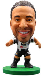 Jonas Gutierrez Newcastle United Home (2012/13) Soccerstarz