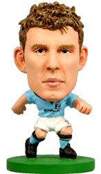 James Milner Manchester City Home (2012/13) Soccerstarz
