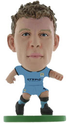 James Milner Manchester City Home (2014/15) Soccerstarz