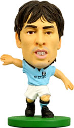 David Silva Manchester City Home (2012/13) Soccerstarz
