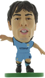 David Silva Manchester City Home (2014/15) Soccerstarz