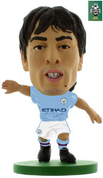 David Silva Manchester City Home (2017/18) Soccerstarz