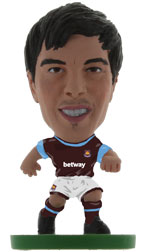 James Tomkins West Ham United Home (2015/16) Soccerstarz