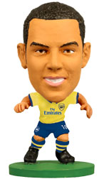 Theo Walcott Arsenal Away (2013/14) Soccerstarz