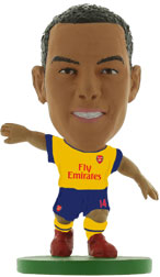Theo Walcott Arsenal Away (2014/15) Soccerstarz