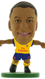 Alex Oxlade-Chamberlain Arsenal Away (2014/15) Soccerstarz