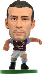 Andy Carroll West Ham United Home (2013/14) Soccerstarz