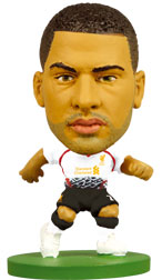 Glen Johnson Liverpool Away (2013/14) Soccerstarz