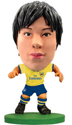 Ryo Miyaichi Arsenal Away (2013/14) Soccerstarz