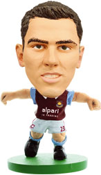 Stewart Downing West Ham United Home (2013/14) Soccerstarz