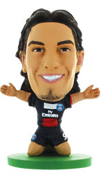 Edinson Cavani Paris St Germain Home (2013/14) Soccerstarz
