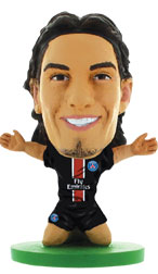 Edinson Cavani Paris St Germain Home (2015/16) Soccerstarz