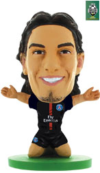 Edinson Cavani Paris St Germain Home (2017/18) Soccerstarz