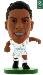 Raphael Varane Real Madrid Home (2017/18) Soccerstarz
