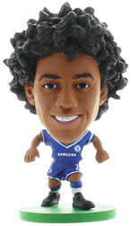 Willian Chelsea Home (2013/14) Soccerstarz