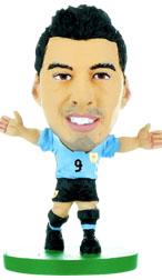 2018 Version //Figures SoccerStarz SOC764 Barcelona Luis Suarez-Home Kit
