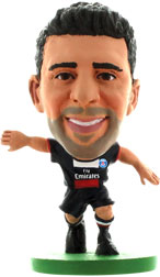 Thiago Motta Paris St Germain Home (2013/14) Soccerstarz