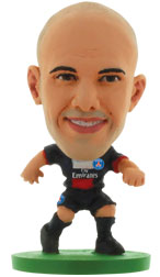 Christophe Jallet Paris St Germain Home (2013/14) Soccerstarz