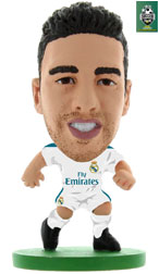 f70ba1594 Daniel Carvajal Real Madrid Home (2017 18) Soccerstarz