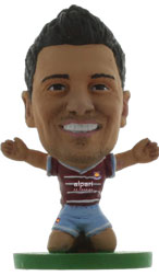 Mauro Zarate West Ham United Home (2014/15) Soccerstarz