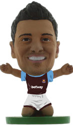 Mauro Zarate West Ham United Home (2015/16) Soccerstarz