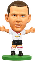 Wayne Rooney Manchester United Away (2015/16) Soccerstarz