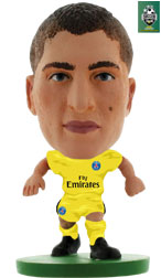 Marco Verratti Paris St Germain Away (2017/18) Soccerstarz