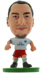 Zlatan Ibrahimovic Paris St Germain Away (2014/15) Soccerstarz