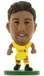 Adam Lallana Liverpool Away (2014/15) Soccerstarz