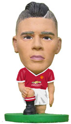 Marcos Rojo Manchester United Home (2015/16) Soccerstarz