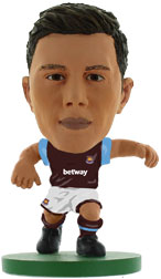Aaron Creswell West Ham United Home (2015/16) Soccerstarz
