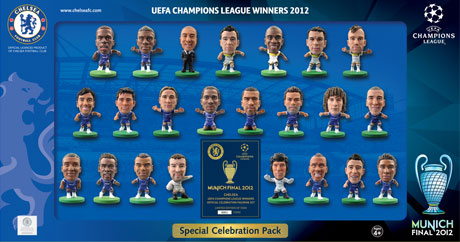 Champions League 2012 Winners Celebration Pack