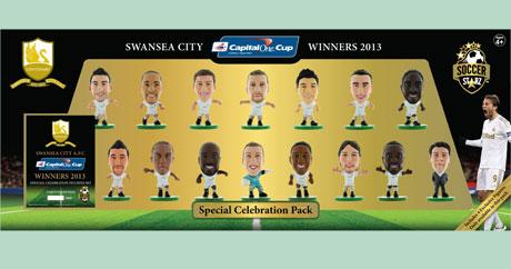 SoccerStarz Swansea City AFC Angel Rangel Home Kit