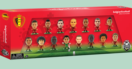 Belgium 15 Player World Cup 2014 Celebration Box Set